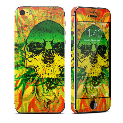 Apple iPhone 5S Skin - Hot Tribal Skull