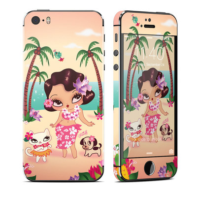 Apple iPhone 5S Skin - Hula Lulu