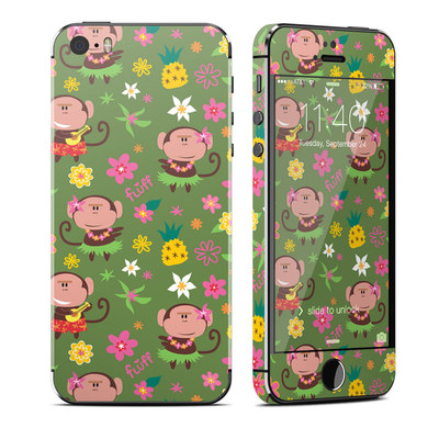Apple iPhone 5S Skin - Hula Monkeys
