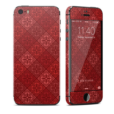Apple iPhone 5S Skin - Humidor