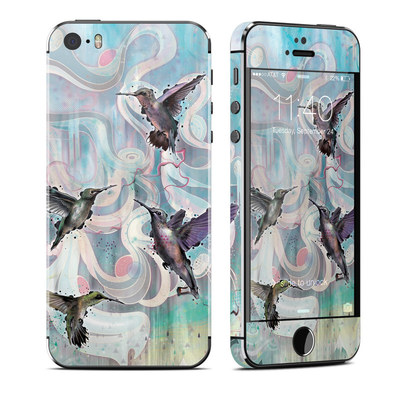 Apple iPhone 5S Skin - Hummingbirds