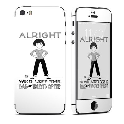 Apple iPhone 5S Skin - Bag of Idiots