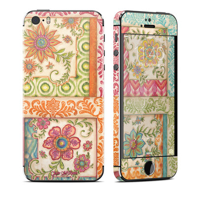 Apple iPhone 5S Skin - Ikat Floral