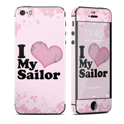 Apple iPhone 5S Skin - I Love My Sailor