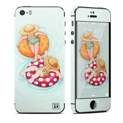Apple iPhone 5S Skin - Inner Tube Girls