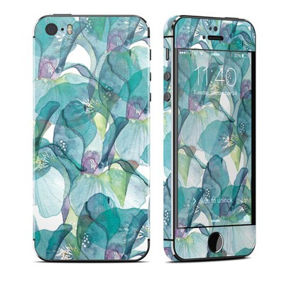 Apple iPhone 5S Skin - Iris Petals