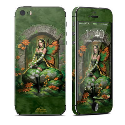 Apple iPhone 5S Skin - Jade Fairy
