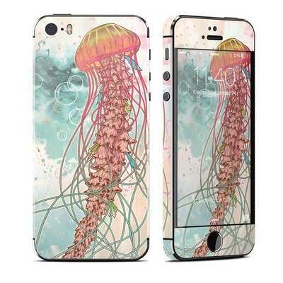 Apple iPhone 5S Skin - Jellyfish
