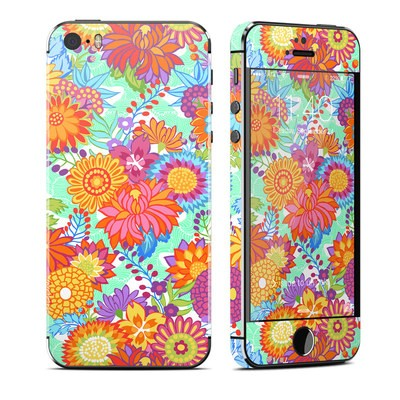 Apple iPhone 5S Skin - Jubilee Blooms