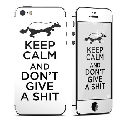 Apple iPhone 5S Skin - Keep Calm - HB