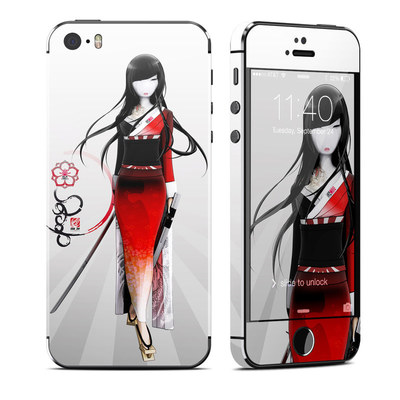 Apple iPhone 5S Skin - Kokeshi