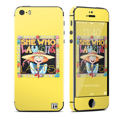 Apple iPhone 5S Skin - She Who Laughs