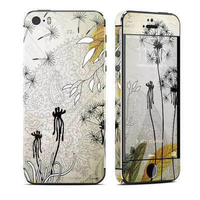 Apple iPhone 5S Skin - Little Dandelion
