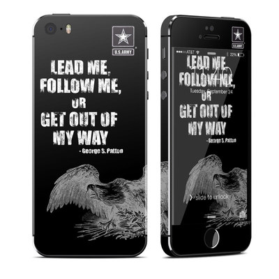 Apple iPhone 5S Skin - Lead Me