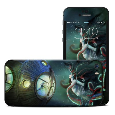 Apple iPhone 5S Skin - 20000 Leagues