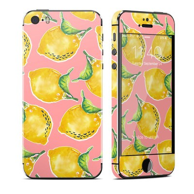 Apple iPhone 5S Skin - Lemon
