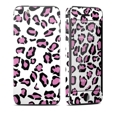 Apple iPhone 5S Skin - Leopard Love