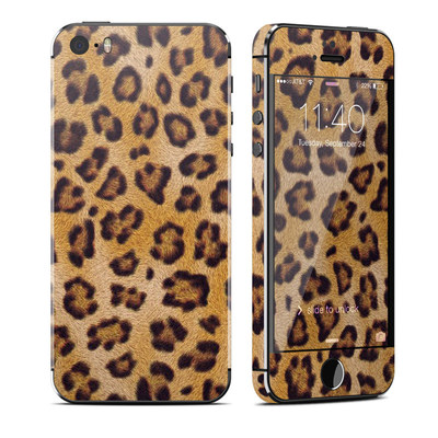 Apple iPhone 5S Skin - Leopard Spots