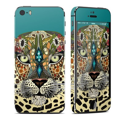 Apple iPhone 5S Skin - Leopard Queen