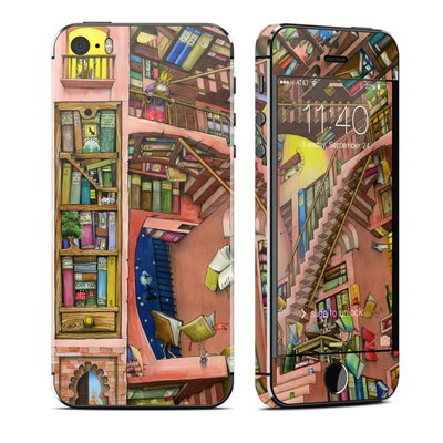 Apple iPhone 5S Skin - Library Magic