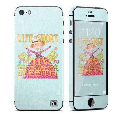 Apple iPhone 5S Skin - Life is Short