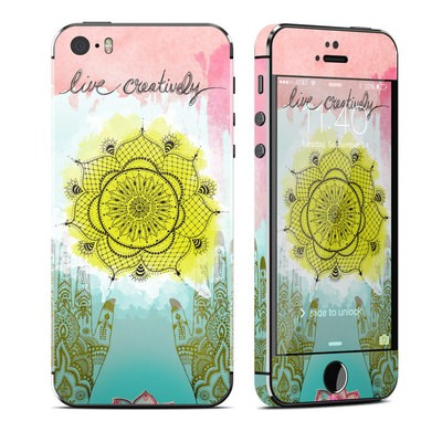 Apple iPhone 5S Skin - Live Creative