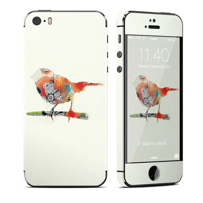 Apple iPhone 5S Skin - Little Bird