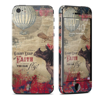 Apple iPhone 5S Skin - Leap Of Faith