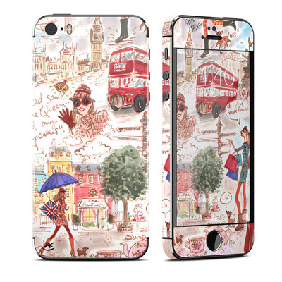 Apple iPhone 5S Skin - London