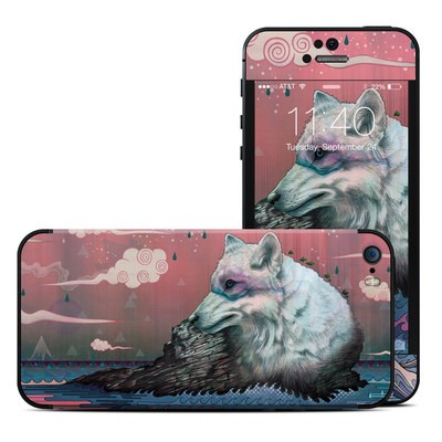 Apple iPhone 5S Skin - Lone Wolf