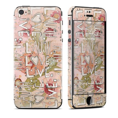 Apple iPhone 5S Skin - Love Floral