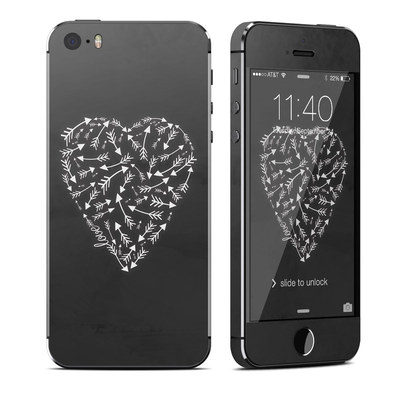 Apple iPhone 5S Skin - Love Me Not