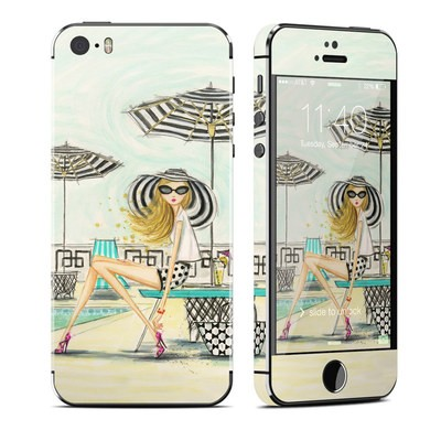 Apple iPhone 5S Skin - Luxe Retreat Poolside