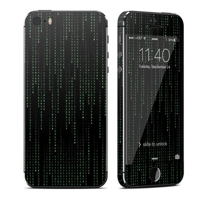 Apple iPhone 5S Skin - Matrix Style Code