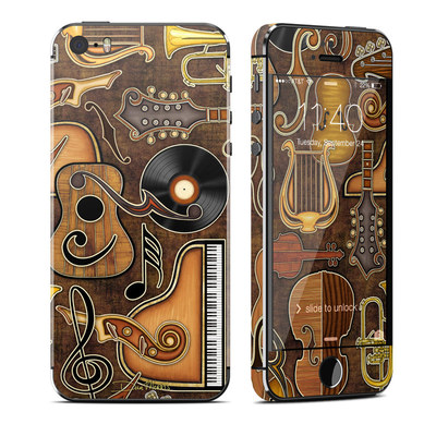 Apple iPhone 5S Skin - Music Elements