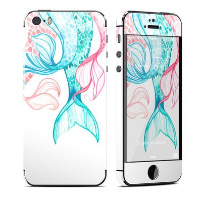 Apple iPhone 5S Skin - Mermaid Tails