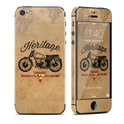 Apple iPhone 5S Skin - MotoGP Heritage