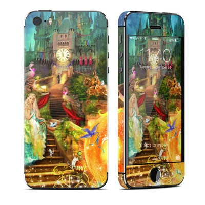 Apple iPhone 5S Skin - Midnight Fairytale