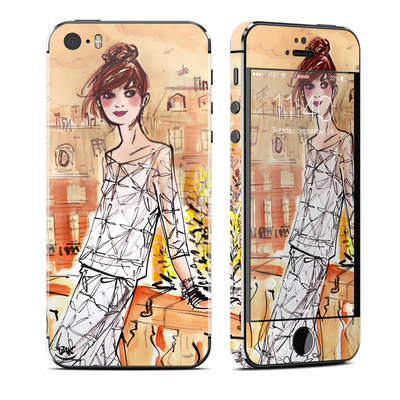 Apple iPhone 5S Skin - Mimosa Girl