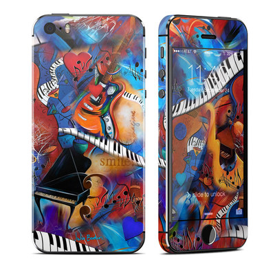 Apple iPhone 5S Skin - Music Madness