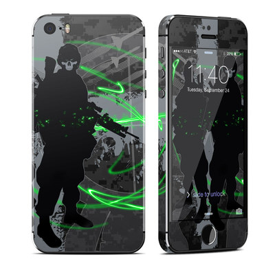 Apple iPhone 5S Skin - Modern War