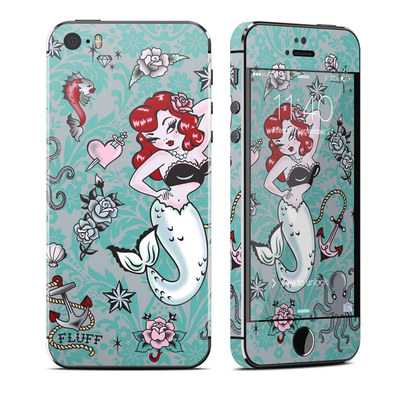 Apple iPhone 5S Skin - Molly Mermaid