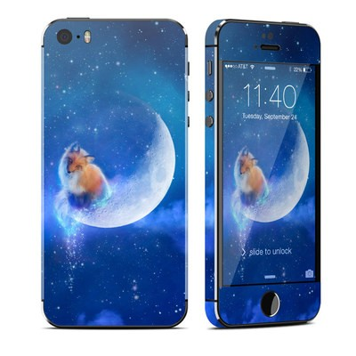 Apple iPhone 5S Skin - Moon Fox