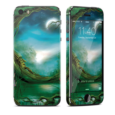 Apple iPhone 5S Skin - Moon Tree