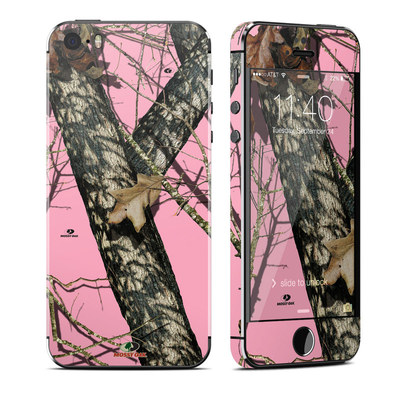 Apple iPhone 5S Skin - Break-Up Pink