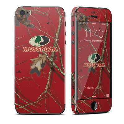 Apple iPhone 5S Skin - Break-Up Lifestyles Red Oak
