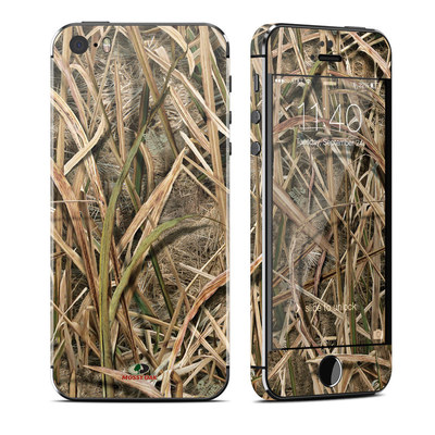 Apple iPhone 5S Skin - Shadow Grass Blades