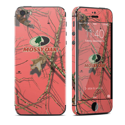 Apple iPhone 5S Skin - Break-Up Lifestyles Salmon