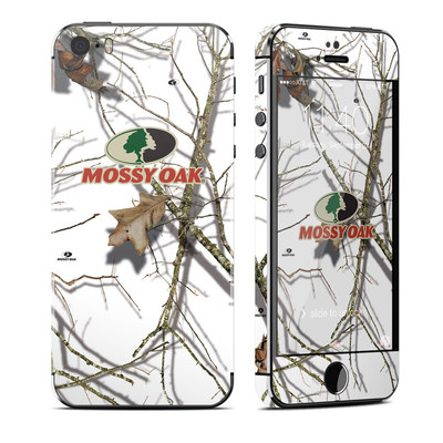 Apple iPhone 5S Skin - Break-Up Lifestyles Snow Drift