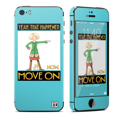 Apple iPhone 5S Skin - Move On